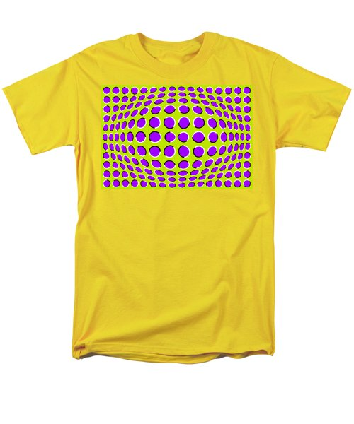 Optical Illusion The Ball Men's T-Shirt  (Regular Fit) by Sumit Mehndiratta