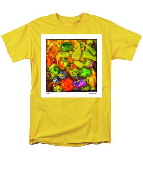Peppers Men's T-Shirt  (Regular Fit) by R Thomas Berner