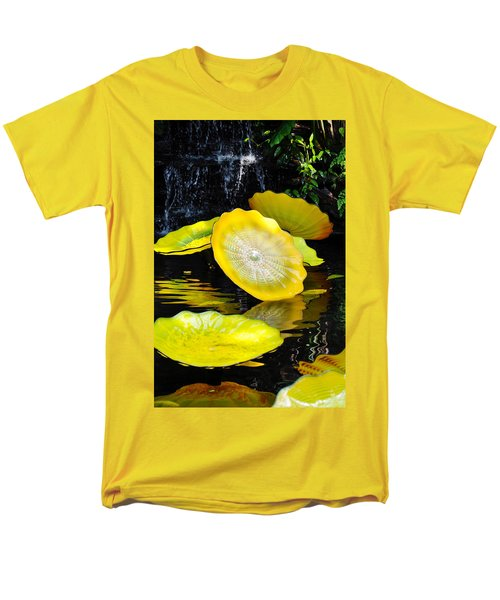 Persian Lily Pads Men's T-Shirt  (Regular Fit) by Kyle Hanson