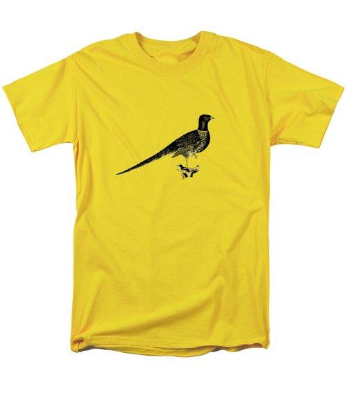 Pheasant Men's T-Shirt  (Regular Fit) by Mark Rogan