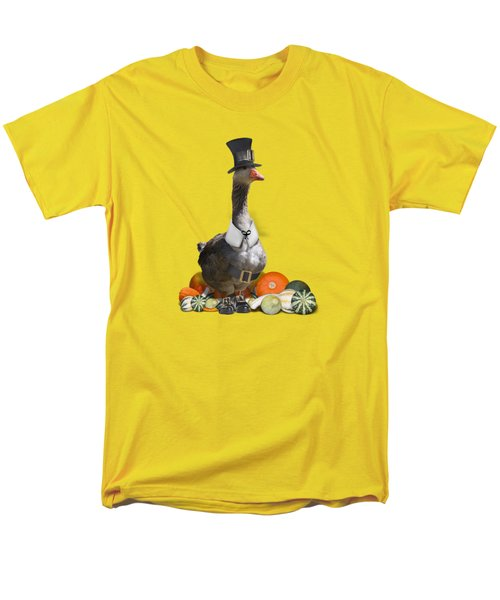 Pilgrim Goose Men's T-Shirt  (Regular Fit)