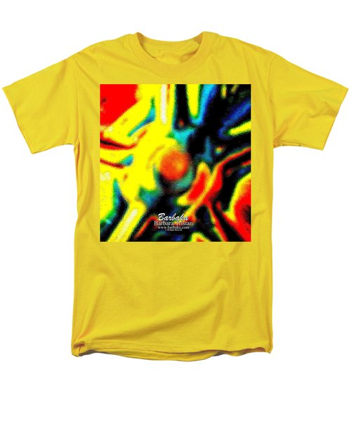Rainbow Bliss #051347 Men's T-Shirt  (Regular Fit) by Barbara Tristan