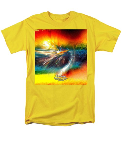 Rainbow Bliss #053329 Men's T-Shirt  (Regular Fit) by Barbara Tristan