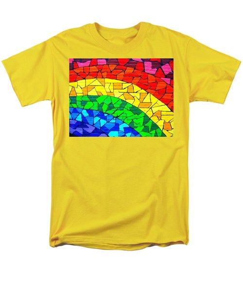 Rainbow ... Men's T-Shirt  (Regular Fit) by Juergen Weiss