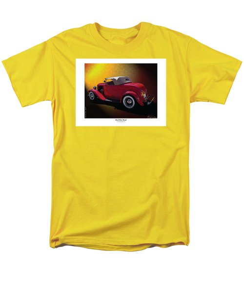 Men's T-Shirt  (Regular Fit) featuring the photograph Red Hot Rod by Kenneth De Tore