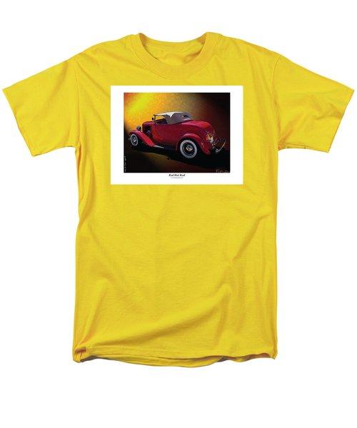Red Hot Rod Men's T-Shirt  (Regular Fit)