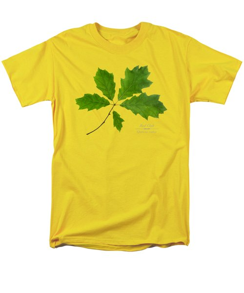 Men's T-Shirt  (Regular Fit) featuring the photograph Red Oak by Christina Rollo