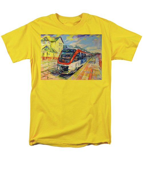 Regiobahn Mettmann Men's T-Shirt  (Regular Fit) by Koro Arandia