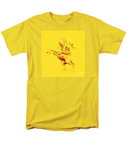 Renegade And Chief Osceola Men's T-Shirt  (Regular Fit) by Paul  Wilford