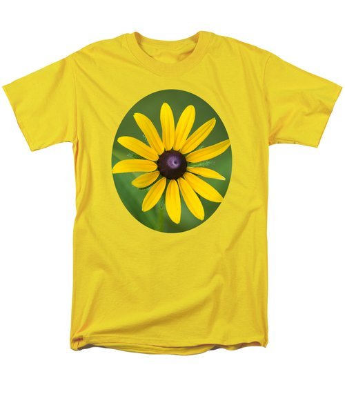 Rudbeckia Flower Men's T-Shirt  (Regular Fit) by Christina Rollo