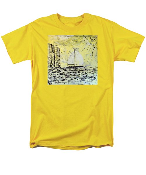 Sail And Sunrays Men's T-Shirt  (Regular Fit) by J R Seymour