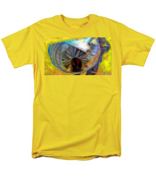 Men's T-Shirt  (Regular Fit) featuring the digital art Shallow Well by Ron Bissett