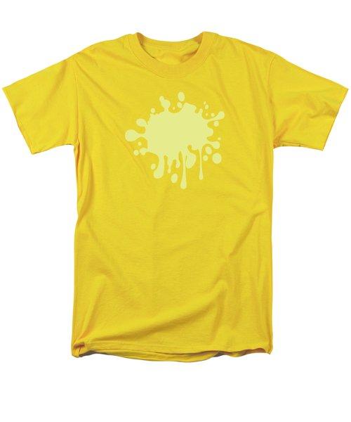 Solid Yellow Pastel Color Men's T-Shirt  (Regular Fit) by Garaga Designs