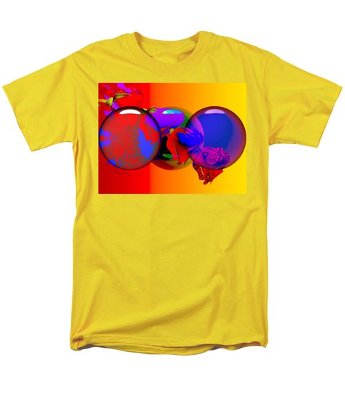 Men's T-Shirt  (Regular Fit) featuring the digital art Sophistacated Lady by Robert Orinski