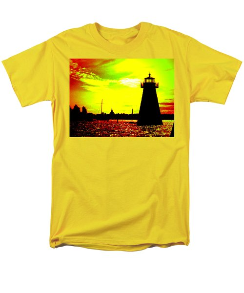 Southcoast Silhouette  Men's T-Shirt  (Regular Fit) by Kate Arsenault