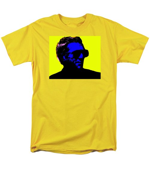 Steve Mcqueen Men's T-Shirt  (Regular Fit) by Emme Pons