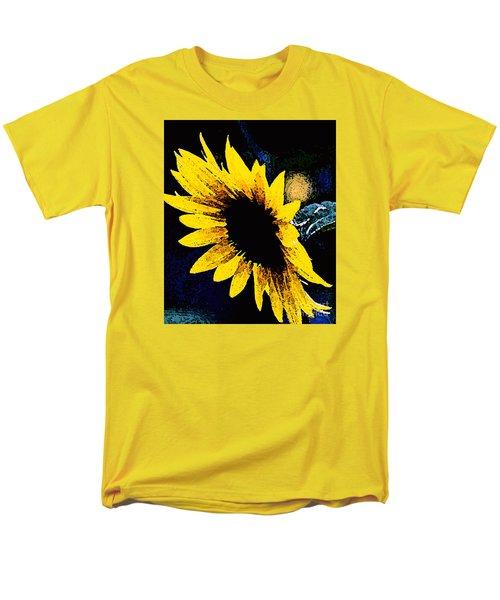 Men's T-Shirt  (Regular Fit) featuring the photograph Sunflower Art  by Juls Adams
