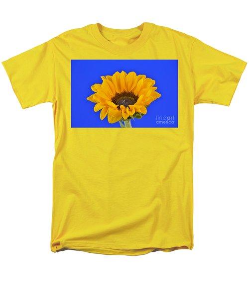 Sunflower Sunshine 406-6 Men's T-Shirt  (Regular Fit) by Ray Shrewsberry