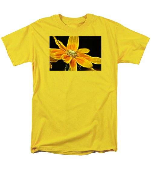Men's T-Shirt  (Regular Fit) featuring the photograph Sunrise Daisy by Cameron Wood