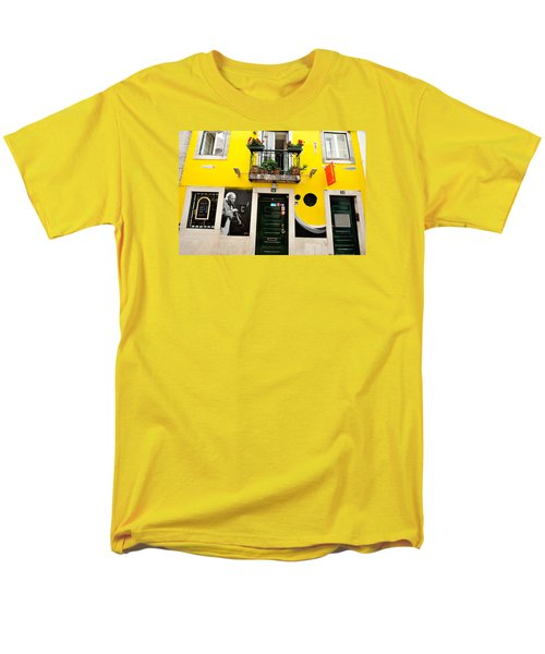 The Colorful Bar Men's T-Shirt  (Regular Fit) by Marwan Khoury