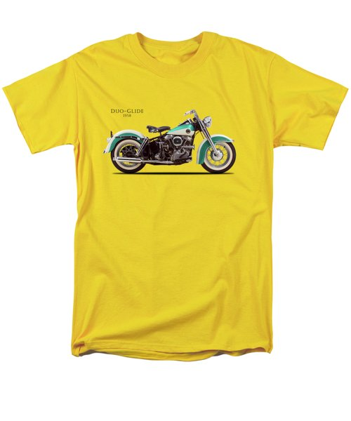 The Harley Duo-glide 1958 Men's T-Shirt  (Regular Fit) by Mark Rogan