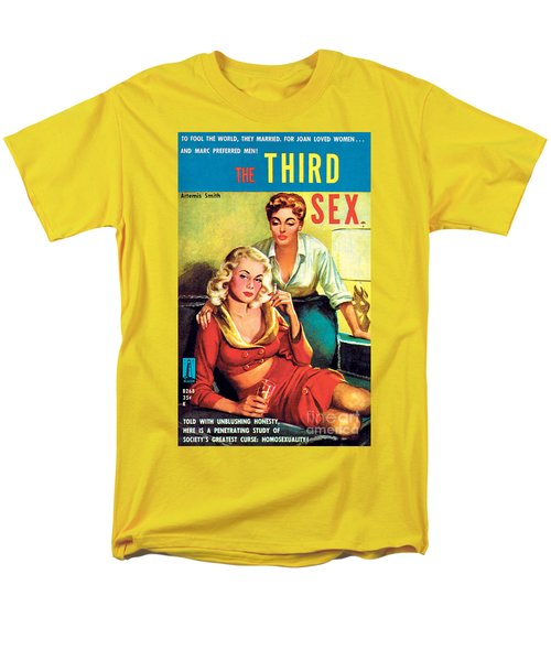 Men's T-Shirt  (Regular Fit) featuring the painting The Third Sex by Robert Stanley