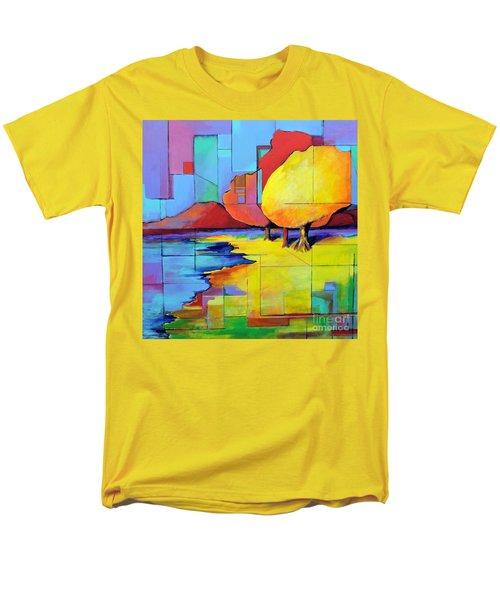 The Yellow Tree Men's T-Shirt  (Regular Fit) by Jodie Marie Anne Richardson Traugott          aka jm-ART