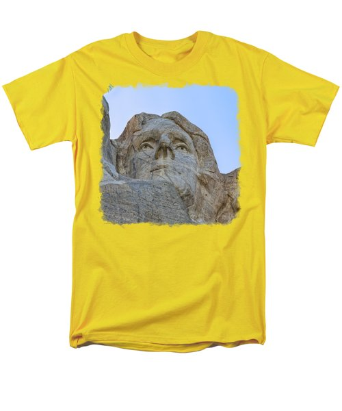 Thomas Jefferson 3 Men's T-Shirt  (Regular Fit) by John M Bailey