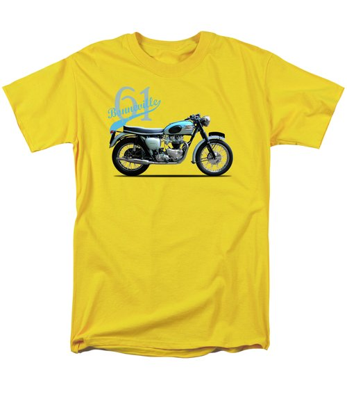 Triumph Bonneville 1961 Men's T-Shirt  (Regular Fit) by Mark Rogan
