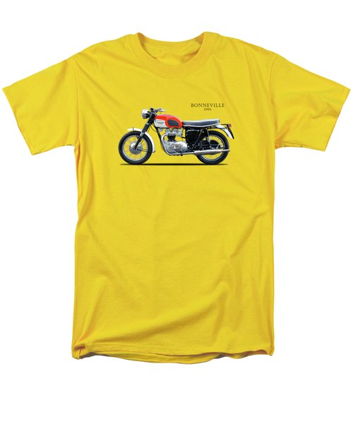 Triumph Bonneville 1966 Men's T-Shirt  (Regular Fit) by Mark Rogan