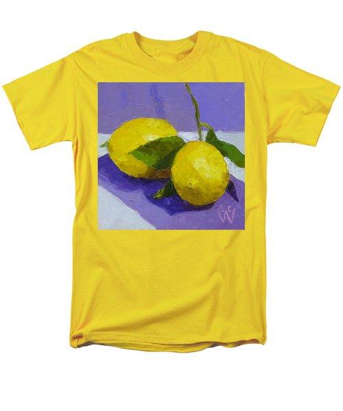 Two Lemons Men's T-Shirt  (Regular Fit) by Susan Woodward