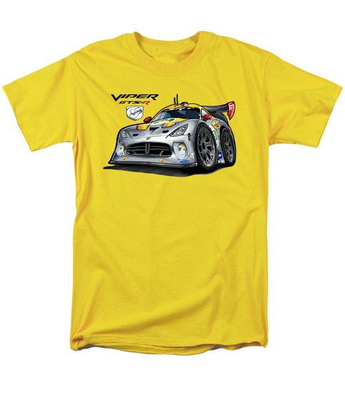Viper Gts-r Car-toon Men's T-Shirt  (Regular Fit) by Steven Dahlen