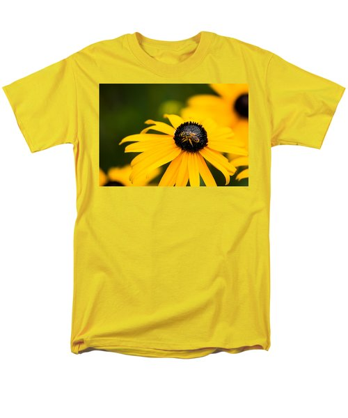 Visitor In The Garden Men's T-Shirt  (Regular Fit) by Shelby  Young
