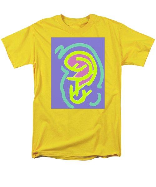Men's T-Shirt  (Regular Fit) featuring the digital art Womb Baby Alive by Carolina Liechtenstein