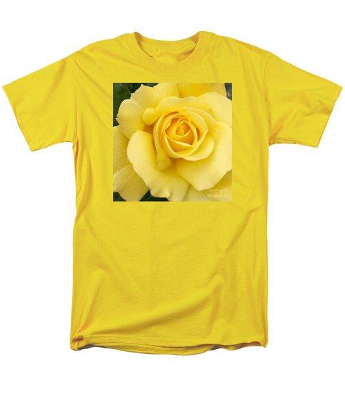 Yellow Gold Men's T-Shirt  (Regular Fit) by Sandy Molinaro