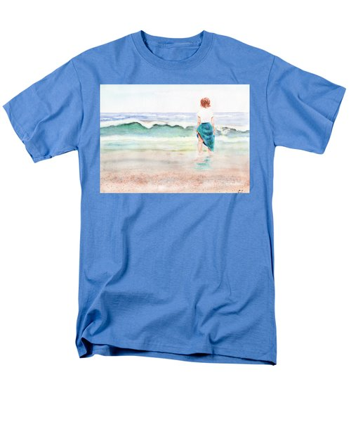 At The Beach Men's T-Shirt  (Regular Fit) by C Sitton