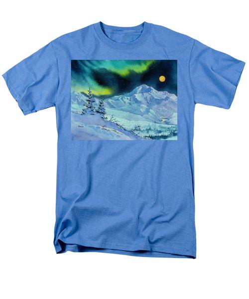 Denali Night Men's T-Shirt  (Regular Fit) by Teresa Ascone