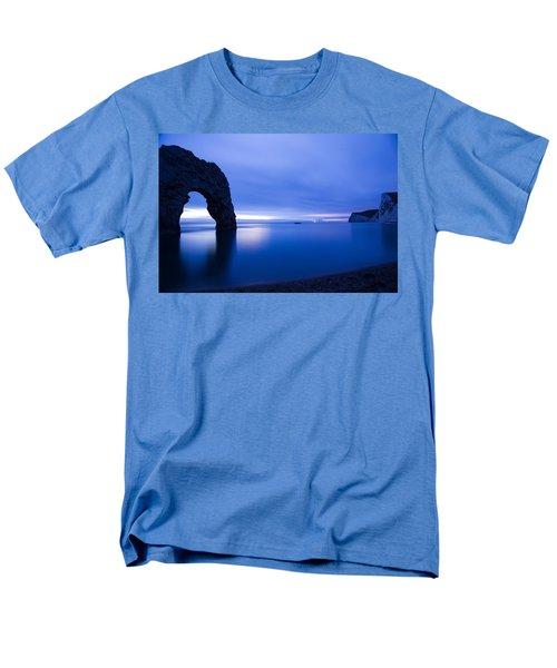 Durdle Door At Dusk Men's T-Shirt  (Regular Fit) by Ian Middleton