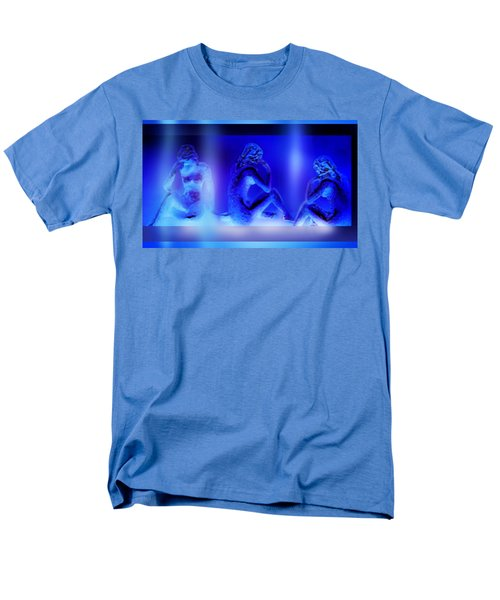 Men's T-Shirt  (Regular Fit) featuring the mixed media Elusive  Dream by Hartmut Jager
