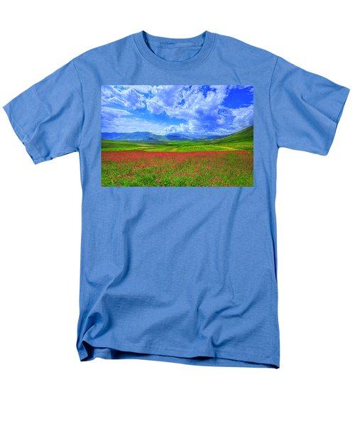 Fields Of Dreams Men's T-Shirt  (Regular Fit) by Midori Chan