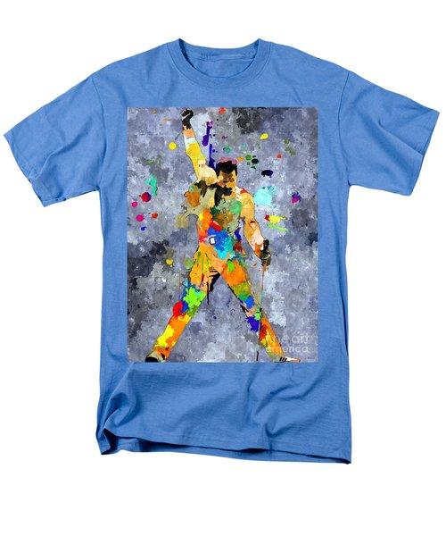 Freddie Mercury Men's T-Shirt  (Regular Fit) by Daniel Janda