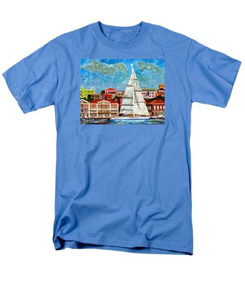 Sailing In Men's T-Shirt  (Regular Fit)