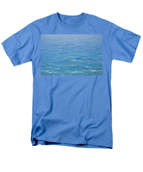 Men's T-Shirt  (Regular Fit) featuring the photograph Blue Waters by George Katechis