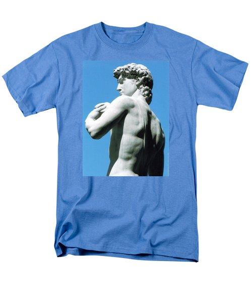 Glance At David Men's T-Shirt  (Regular Fit) by Oleg Zavarzin