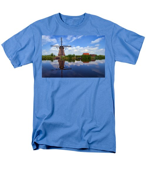 Kinderdijk Men's T-Shirt  (Regular Fit) by Hugh Smith