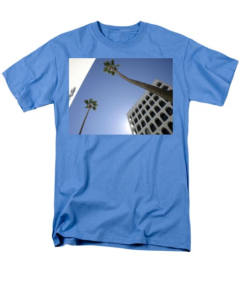 Men's T-Shirt  (Regular Fit) featuring the photograph Looking Up In Beverly Hills by Cora Wandel