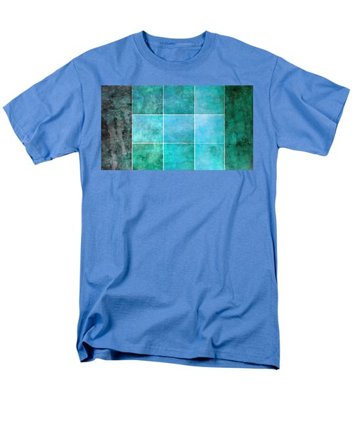 3 By 3 Ocean Men's T-Shirt  (Regular Fit) by Angelina Vick