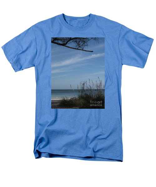 A Beautiful Day At A Florida Beach Men's T-Shirt  (Regular Fit) by Christiane Schulze Art And Photography