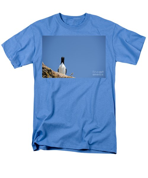 A Curious Bird Men's T-Shirt  (Regular Fit) by Anne Gilbert