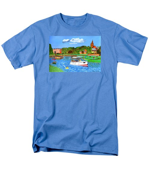 A Day On The River Men's T-Shirt  (Regular Fit) by Magdalena Frohnsdorff